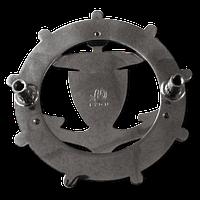 01621 - Backside-of-a-Car-Emblem-with-2-Patins-Filetés