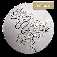 Customized Medals - Relief - Intaglio or Sunken Relief