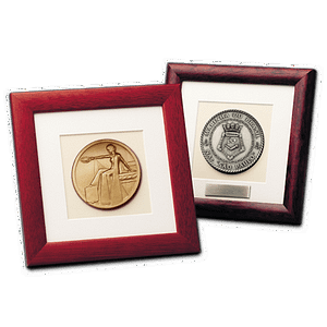 Wooden Frame - Medals in Wooden Frames Display Supports