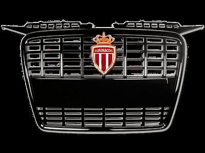 01631 - Car-Emblem-Fixed-on-a-Radiator-Grill