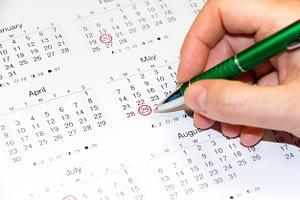 Planning-the-deadlines